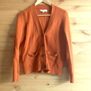 Loft Orange sweater, small
